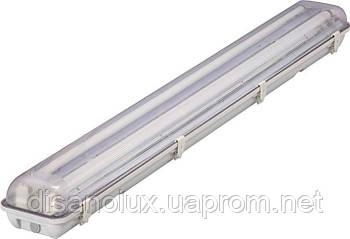 Світильник д/LED TS 2*1200мм IP65 G13, IP65 без ламп