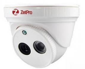 IP видеокамера ZetPro ZIP-13B01-0103A.1.3MP, f=3.6, ИК=20м, IP66, POE