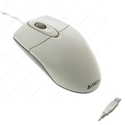 Мышка A4tech OP-720 white-USB