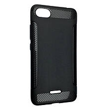 Чехол-накладка DK-Case силикон Carbon Soft Edge для Xiaomi Redmi 6A (black)
