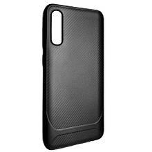 Чехол-накладка DK-Case силикон SGP Carbon для Samsung A50 (black)