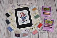 """Комплект материалов к схеме Mirabilia Designs """"Royal Games I / Королевские игры №1"""" MD150"""