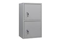 ШБС-8/2 шкаф архивный канцелярский, шкаф металлический для документов Н835*460*340 мм