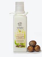 """Крем-сливки демакияж для всех типов кожи серии """"Проросшие зерна"""" White Mandarin, 200 мл"""
