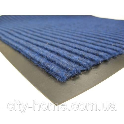 Коврик влаговпитывающий  60 х 90 синий