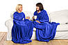 Одеяло-плед с рукавами Snuggie из флиса (Снагги), фото 5