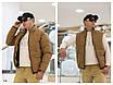 Куртка-жилетка трансформер мужская плащевка+150 силикон 48,50,52,54, фото 4