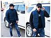 Куртка-жилетка трансформер мужская плащевка+150 силикон 48,50,52,54, фото 5