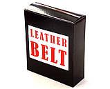 Оригинальный кожаный ремень Diesel для джинс, фото 6