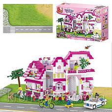 """Конструктор Sluban М38-В0536 """"Большой Дом"""" серия Girls Dream.  (Аналог Lego Friends) 726 деталей, фото 2"""