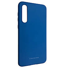 Чехол-накладка Silicone Hana Molan Cano для Samsung A50 (blue)