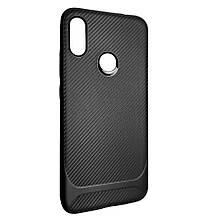 Чехол-накладка DK-Case силикон SGP Carbon для Xiaomi Redmi 7  (black)
