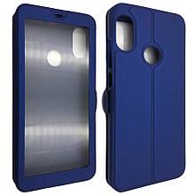 Чехол-книжка DK-Case кожа с пластиком Flip Cover Magnetic для Xiaomi Redmi 7 (blue)