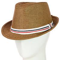 Шляпа Челентанка Молодежная, декорирована лентой