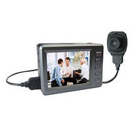 Комплект из LCD мини регистратора FULL HD 1080P и выносной мини камеры (мод. Engel Eye 609)