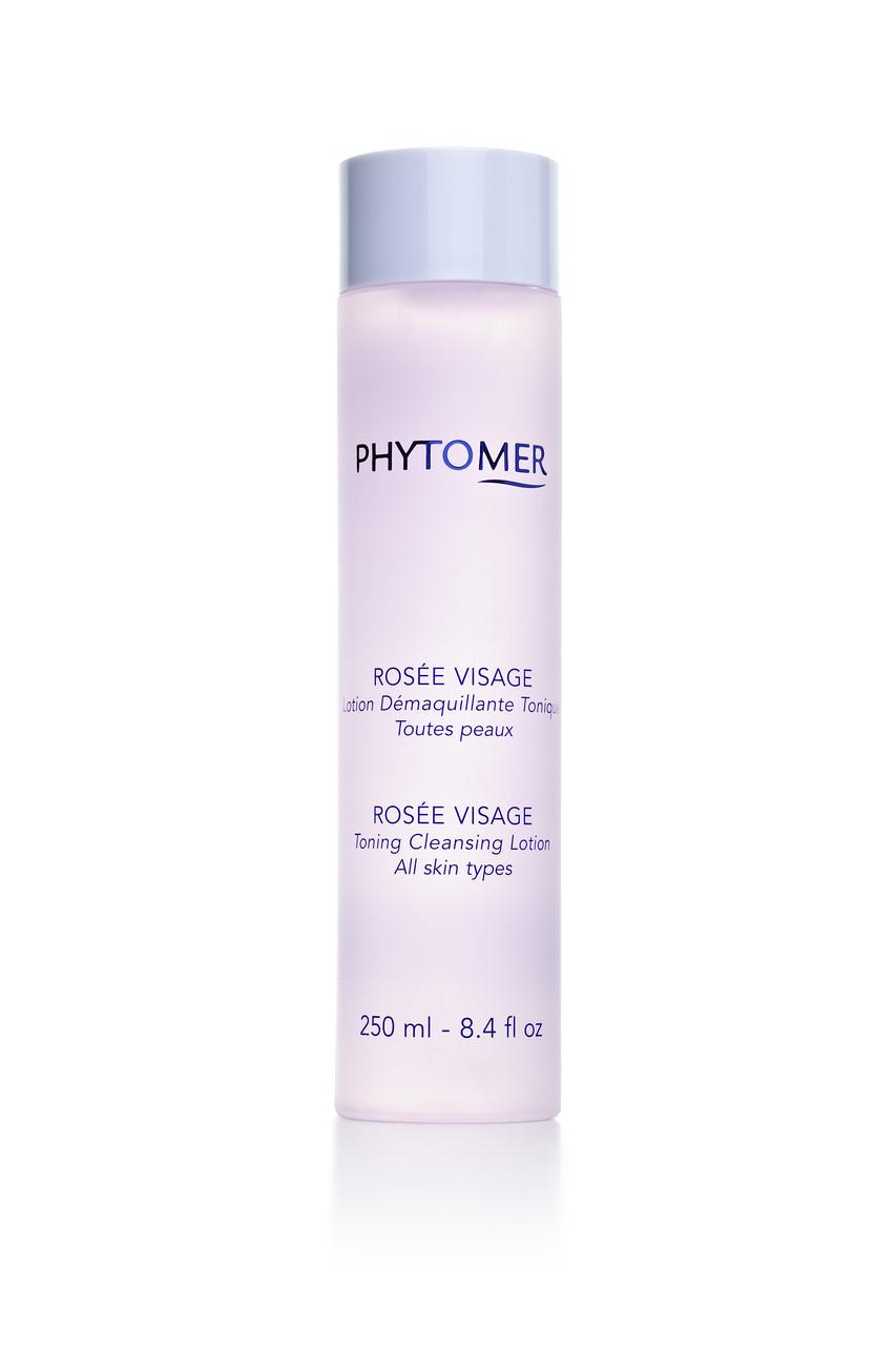 Розовая вода для снятия макияжа Phytomer Rosee Visage Face Dew Toning Cleansing Lotion