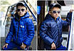 Куртка детская двухсторонняя плащевка+150 силикон 122-128,128-134,134-140,140-146,146-152, фото 5