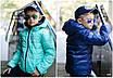 Куртка детская двухсторонняя плащевка+150 силикон 122-128,128-134,134-140,140-146,146-152, фото 7