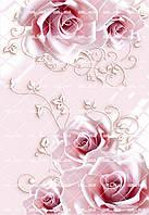 """Харчовий цукровий / вафельний їстівний друк _ лист А4 """"Текстура/Фон Квіти"""""""