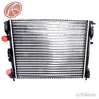 Радиатор охлаждения Логан 1.4, 1.6 (под кондиционер) Renault Dacia Logan | (AURORA) Польша