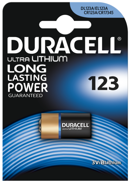 Батарейка DURACELL DL 123 1 шт.