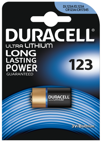 Батарейка DURACELL DL 123 1 шт., фото 2
