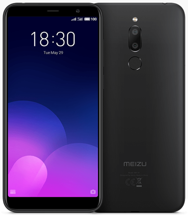 "Meizu M6t Black 2/16 Gb, 5.7"", MT6750, 3G, 4G (Global)"