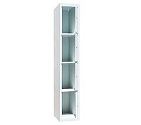Ячеечные шкафы ШО-400/1-4 (4 ячейки 500х400хН450 мм), камера хранения для магазина Н1800х400х500 мм, фото 1
