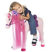Большая розовая лошадь Герцогиня Rockin' Rider Duchess