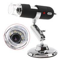 Портативный 2-х мегапиксельный USB микроскоп с увеличением 1600 Х раз