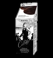 Краска-уход для волос ESTEL (5/4) Темный каштан