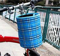 Велосипедная корзина на руль Robesbon передняя Blue