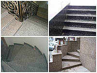 Купить гранитные ступени в Одессе