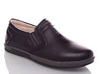 Качественные школьные туфли для мальчика бренда GFB - Канарейка (р. 34 - 22,5 см)