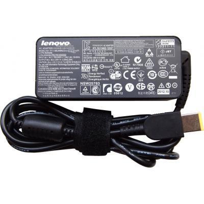 Блок питания к ноутбуку Lenovo 45W 20V 2.25A разъем прямоугольный (pin inside) (ADLX45NLC3 / A40154)