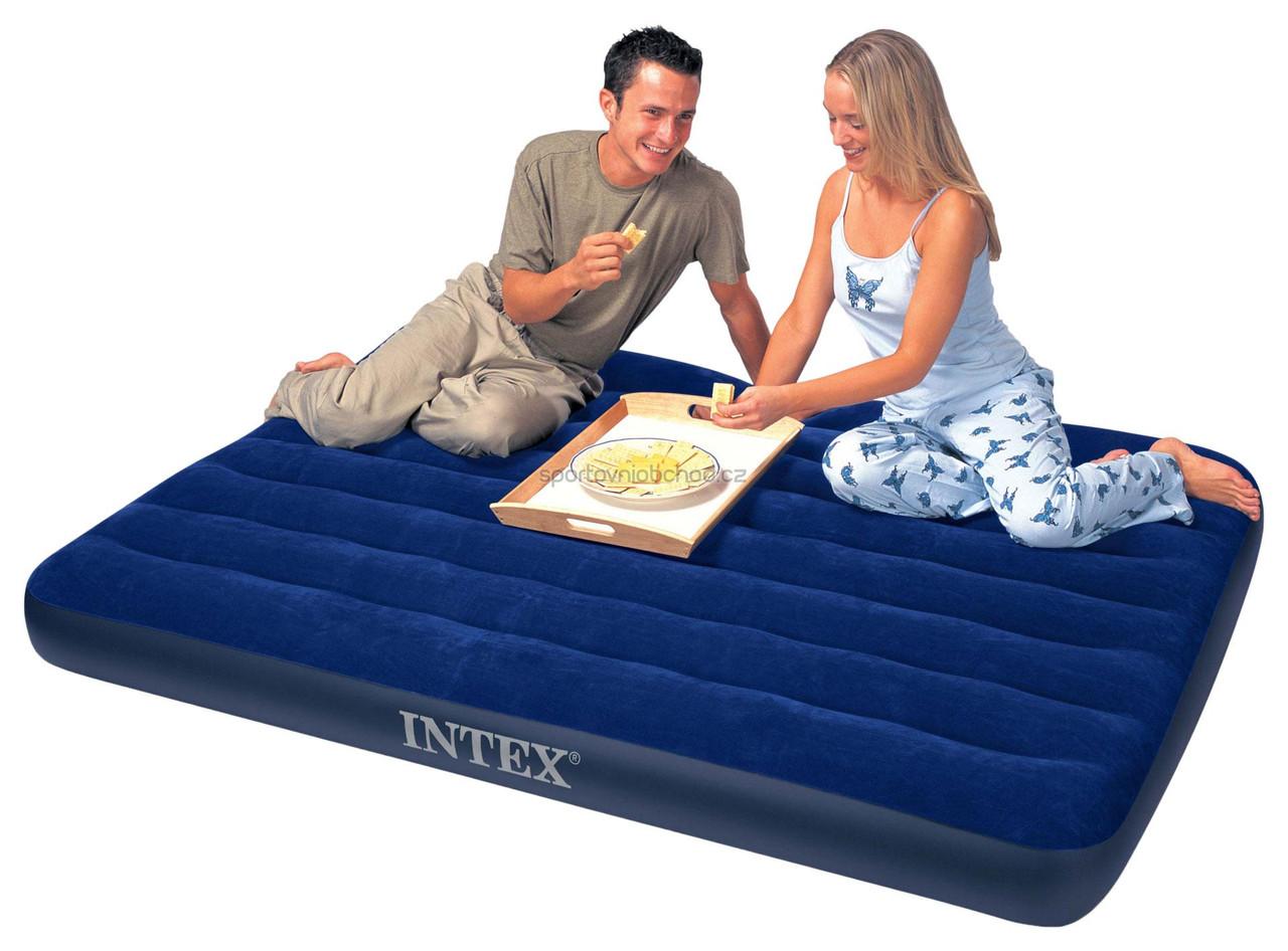 4709158cee10 Полуторный надувной матрас Intex 68758 , магазин надувных матрасов ...