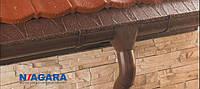 Водостоки, водосток (метал - полиэстер) NIAGARA. (Польша). (125/90 мм, 150/100 мм).