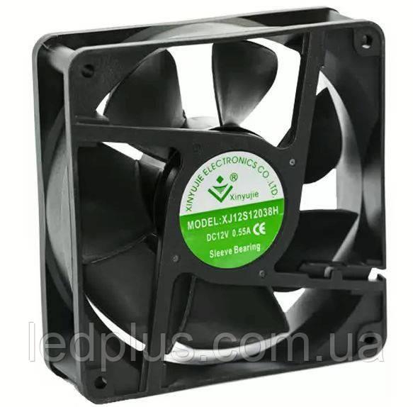 Вентилятор XYJ-12S12038H 12В 120х120х38
