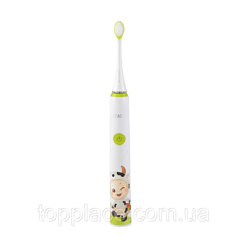 Детская звуковая зубная щетка Seago Sonic SG-972-B, Green (K1010050237)