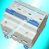 Автоматический выключатель дифференциального тока АВДТ DZ158LE-100 3P+N 0.03A 63A