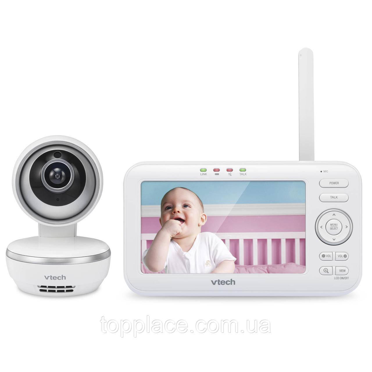 Видеоняня VTech VM5261 двухсторонней связи с дистанционным поворотом камеры (4897027122565)