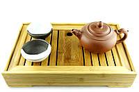 """Столик для чайных церемоний """"Меконг 28х37"""" ваниль"""