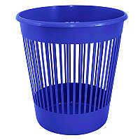 Корзина для бумаг Алеана 12 л, синий