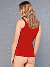 Жіноча червона майка Doreanse Essentials 9111, фото 2
