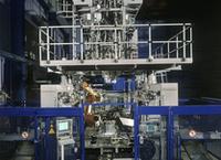 Роботизированная выдувная машина K3D-HP для фигурных деталей