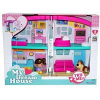 Игровой набор Keenway Кукольный домик с мебелью и фигурками (22066)