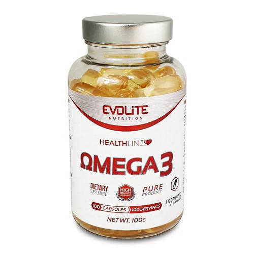 Evolite Omega 3  рыбий жир 100 caps