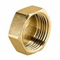Заглушка латунь диаметр 20 внутренняя резьба
