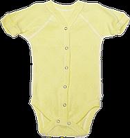 Детский боди-футболка в дырочки, кнопки посередине и внизу, хлопок (мультирипп), ТМ Бимс, р. 86, Украина
