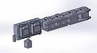 3D дизайн пластиковых изделий, проектирование и производство выдувных форм, проекты готовых производств